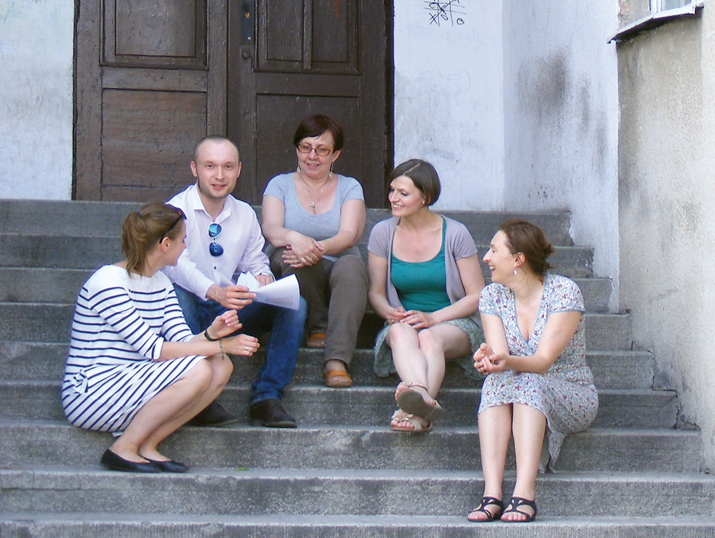Ulica Zagrodowa, lokal po filii biblioteki wojewódzkiej – proponowana lokalizacja naszego Domu Sąsiedzkiego. Fot: Edyta Petelska.