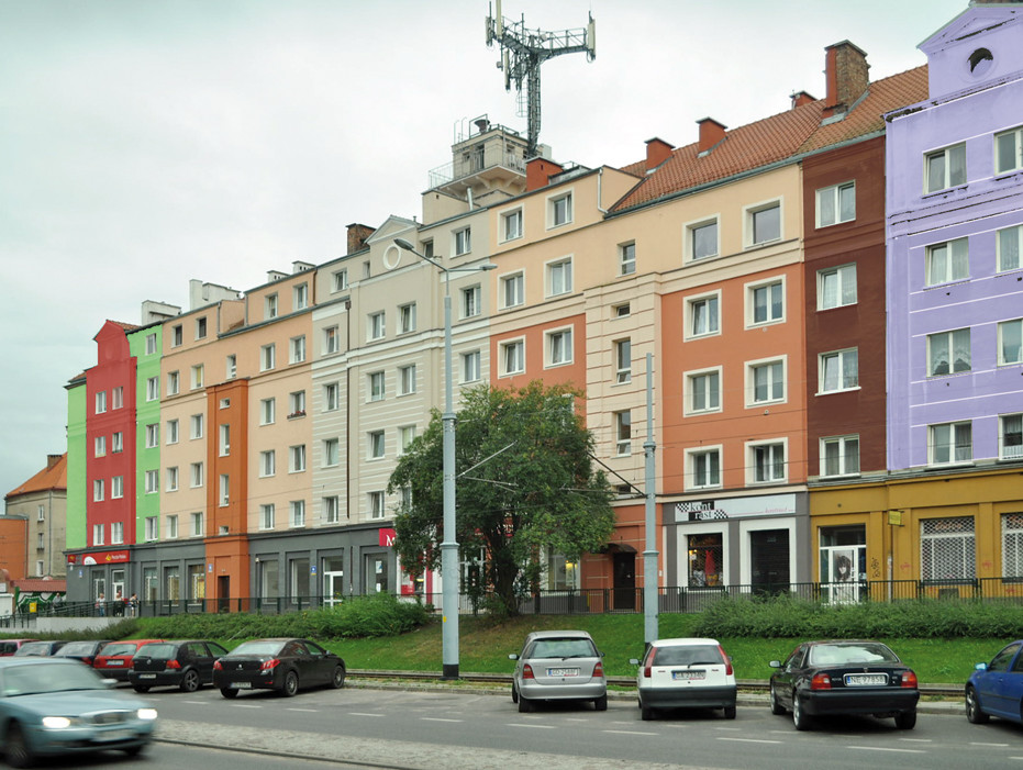 """Wesoła"" ulica Kartuska."
