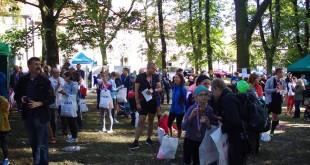 Biegowa impreza w Parku Bema