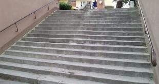 Remont schodów przy ulicach Tarasy oraz Zakopiańskiej