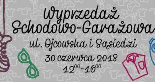 Wyprzedaż garażowa na ul. Ojcowskiej