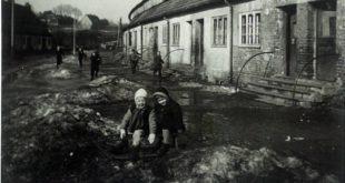 Ulica Ojcowska na dawnej fotografii