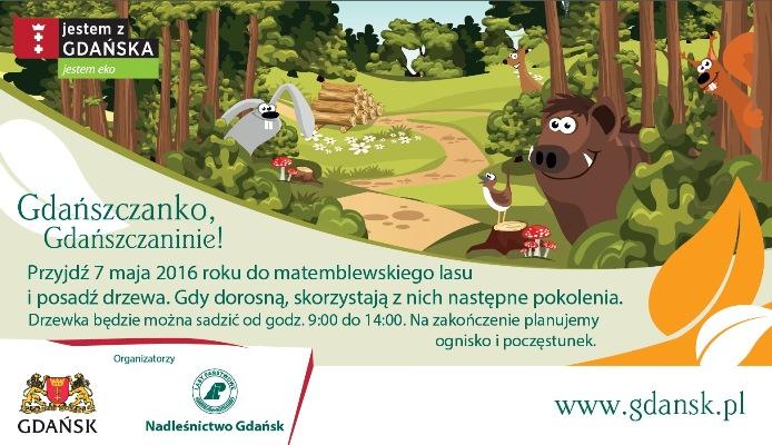 Sadzenie lasu w Gdańsku
